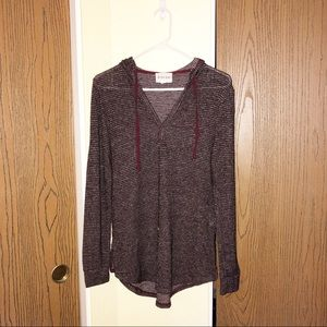 Olive + Oak | Purple Light Weight Sweater | Size M
